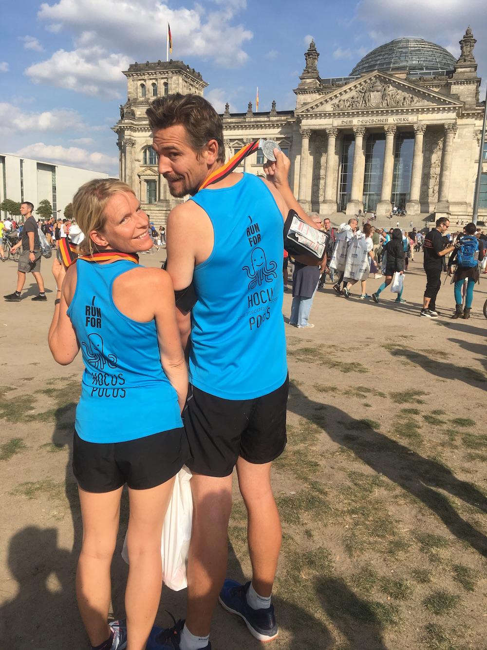 16 sep 2018 : Deux marathoniens à Berlin