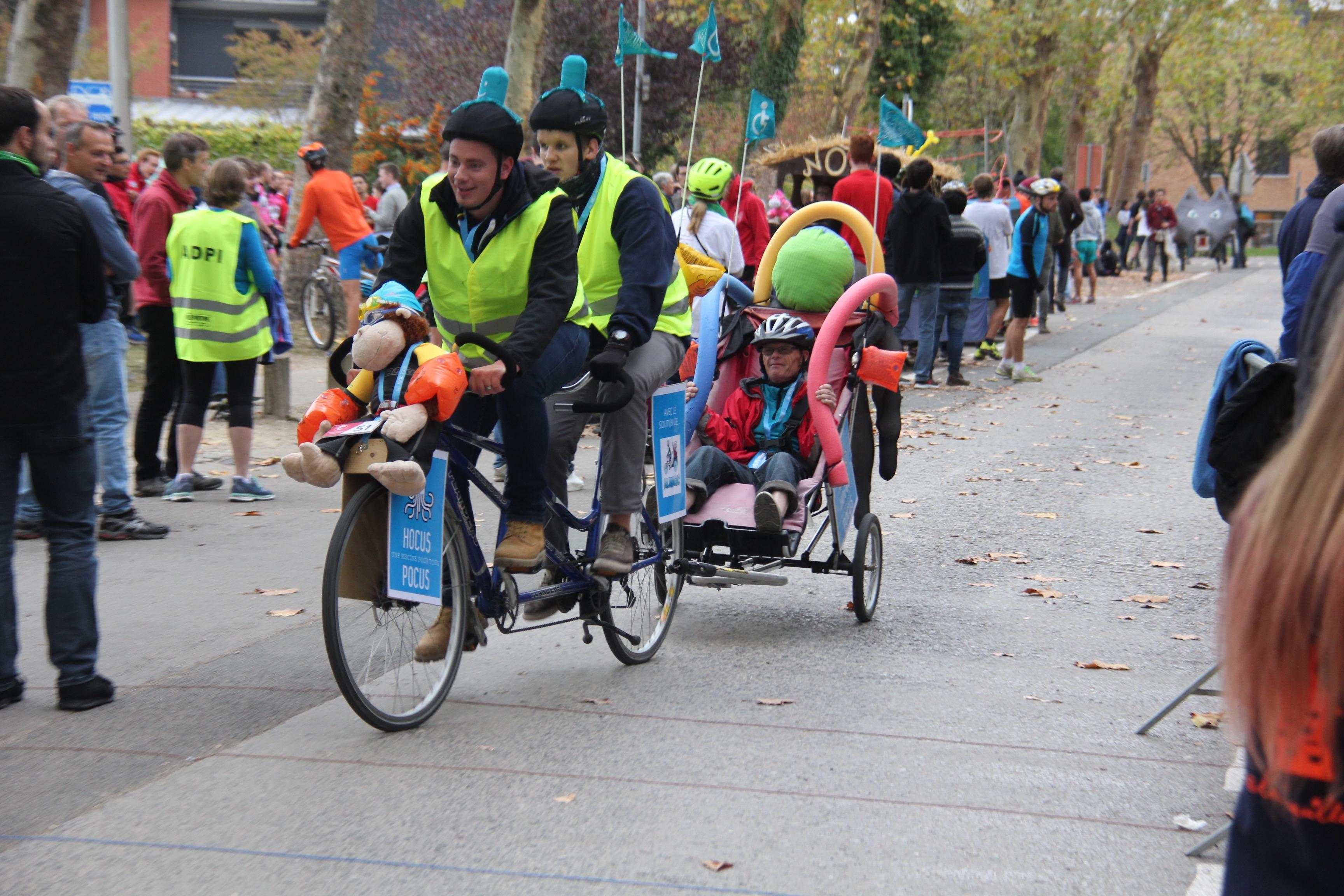 24-25 oct 2018 : En tandem aux 24h vélo de LLN